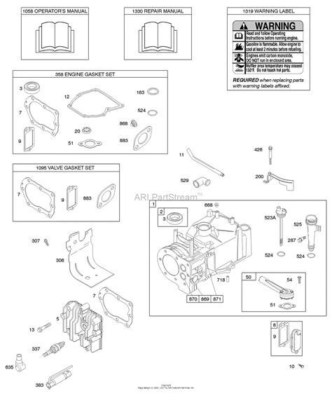 Briggs Stratton Parts Diagram For