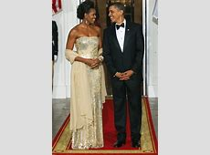 Best of Michelle Obama's state dinner dresses rated from