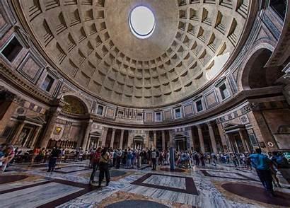 Pantheon Rome Church Inside Amazing Very Interior