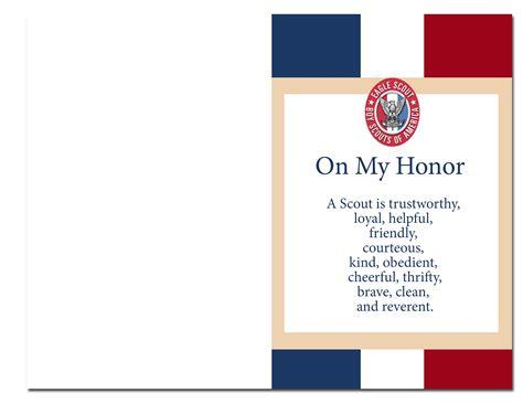 eagle scout court  honor ideas   printables