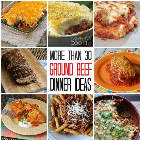 simple dinners with ground beef ground beef dinner ideas 30 recipes for supper
