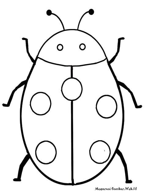 mewarnai gambar serangga mewarnai gambar