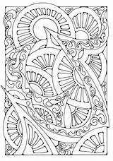 Coloring Colouring Adult sketch template