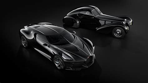 The type 57s atlantic body featured flowing coupé lines with a pronounced dorsal also known as la voiture noire (french for the black car), this is the second atlantic that was manufactured. Rumour Mill: Is CR7 The Exclusive Owner Of The New Bugatti La Voiture Noire? | Motoroids