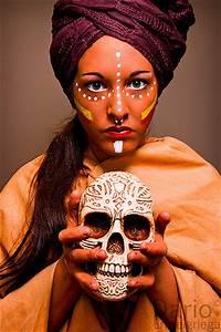 Maribel (African Tribe Make-Up) | Flickr - Photo Sharing!