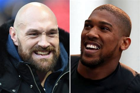 Anthony Joshua tells Tyson Fury to step in the ring and ...