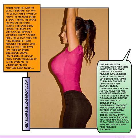 boob transformation captions cumception