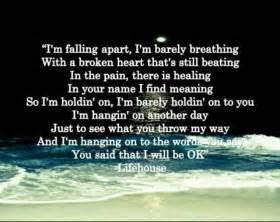 Broken Lifehouse Lyric Quotes