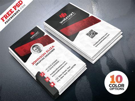 creative business cards design psd  psd freebies