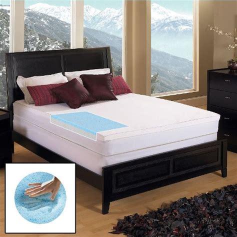 kohls mattress topper gel memory foam 3 in mattress topper simplythecase
