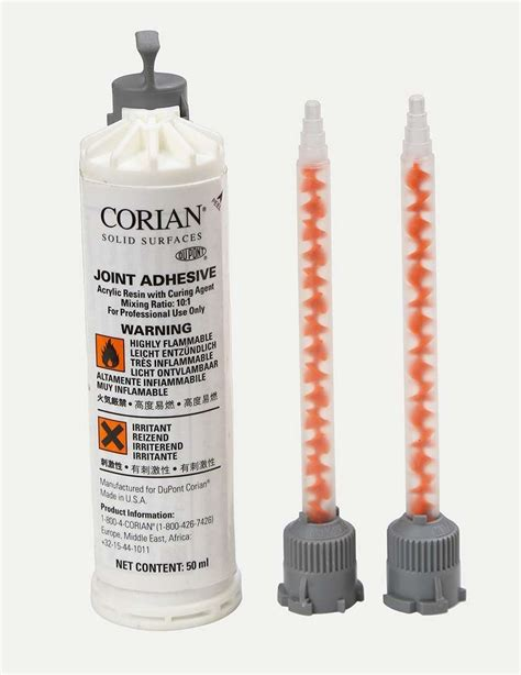 Dupont Corian Glue by Corian 174 Joint Adhesive Anthracite