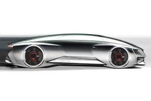 auto design app audi fleet shuttle quattro concept sketch side view photo 1