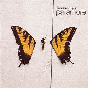 A2-11 Group 5: Cd Cover Analysis of Brand New Eyes by Paramore