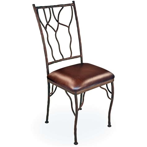 pictured is our rustic camelot dining side chair