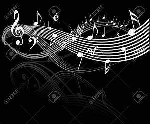 Music Note Background Black And White | www.pixshark.com ...
