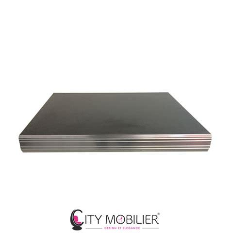 plateau sur mesure bords aluminium fifties city mobilier