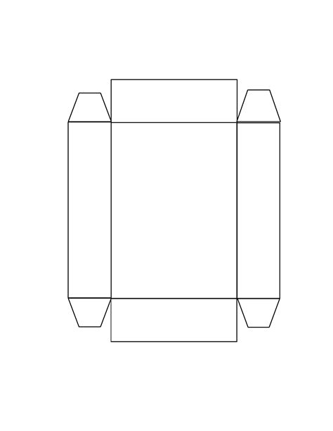 easter box bottom template