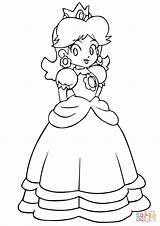 Mario Daisy Coloring Peach Bros Colorare Coloriage Ausmalbilder Printable Disegni Zum Colorear Kart Rosalina Ausmalbild Dibujos Luigi Princesse Disegno Harmonie sketch template
