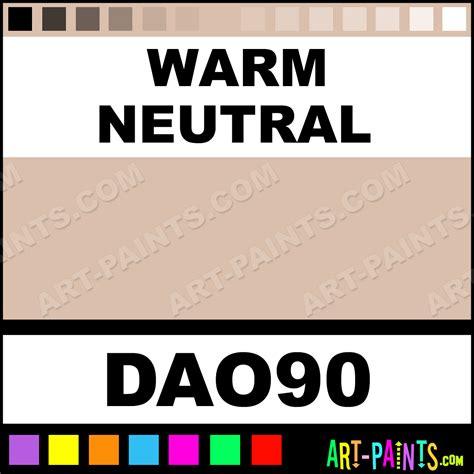 Warm Neutral Decoart Acrylic Paints  Dao90  Warm Neutral