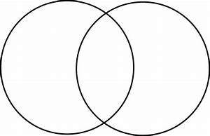 Blank Venn Diagram With 2 Circles