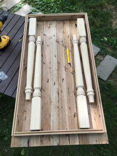folding farmhouse table  reclaimed wood