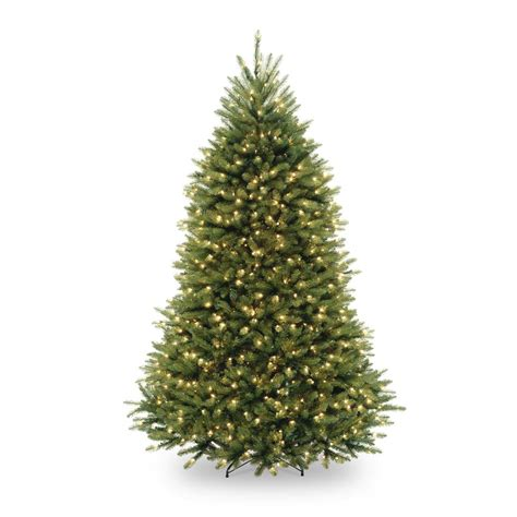 dunhill christmas tress home depot fir christimas trees home accents 7 5 ft pre lit dunhill fir hinged artificial tree with clear