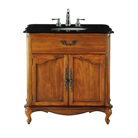 home depot bathroom vanities single sink home decorators collection provence 33 in w x 22 in d