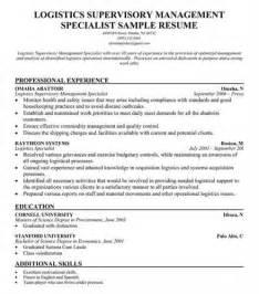 logistics management resume keywords logistics management specialist resume