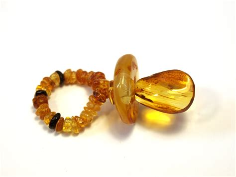 Baltic Amber Baby Pacifier