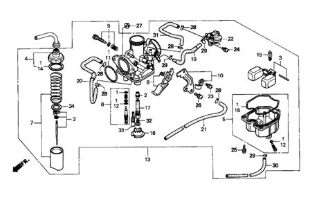 Wiring Diagram For Honda Recon Atv by 99 Honda Recon 250 Wiring Diagram Wiring Diagram