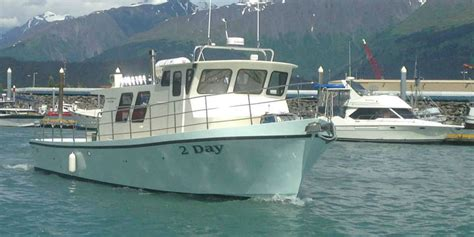 Alaskan Fishing Boat Captain by Experience A Alaska Saltwater Fishing Charter A Day