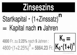 Zinseszins Zinssatz Berechnen : beste berechnung zinseszins arbeitsblatt galerie super ~ Themetempest.com Abrechnung