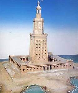 Lighthouse Of Alexandria 7 Wonders Of The World