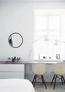 Schreibtisch Im Schlafzimmer : das inspirierende apartment der d nischen architektin friederike faller ein echtes raumwunder ~ Eleganceandgraceweddings.com Haus und Dekorationen