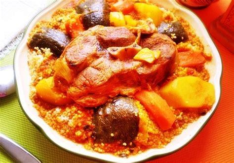 cuisiner un couscous couscous tunisien à l 39 agneau de cuisiner