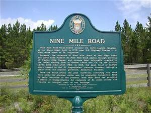 Nine Mile Road - Florida Historical Markers on Waymarking.com