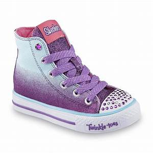 Skechers Twinkle Toes Lights Skechers Toddler Girl 39 S Twinkle Toes Lil Glammers Purple