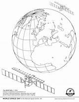Satellite Coloring Space Missions Smirnova Ekaterina Sentinel Juno Getdrawings Earth sketch template