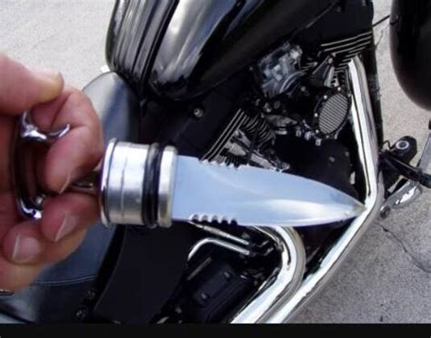 Harley Davidson Motorcycle Oil Dipstick That Is Actually A