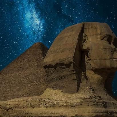Sphinx Giza Milky Way