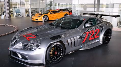 Mercedes McLaren SLR 722 GT Trophy 12 made cars