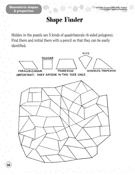 12 Best Images Of Geometry Shapes Worksheets  Basic Geometric Shapes Worksheets, Basic