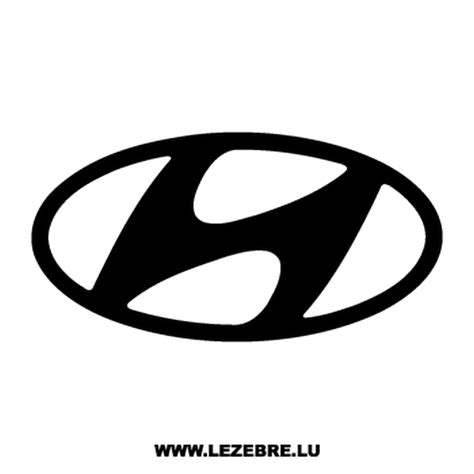Hyundai Logo by Hyundai Logo Decal 2