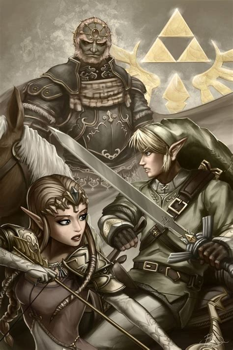 The Legend Of Zelda Fan Art Created By Brandon Dunn