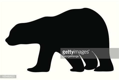 black bear  cub silhouette clipart  clipground