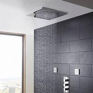 Douche Encastrable Plafond : t te de douche encastrable plafond 19 3 4 po ~ Premium-room.com Idées de Décoration