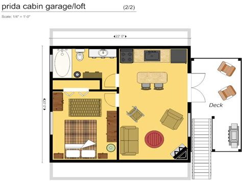 Small Cabin Floor Plans 16 X 24