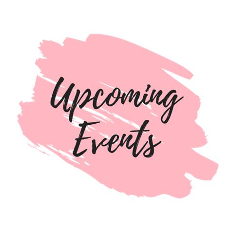 upcoming events | Gillian Perkins
