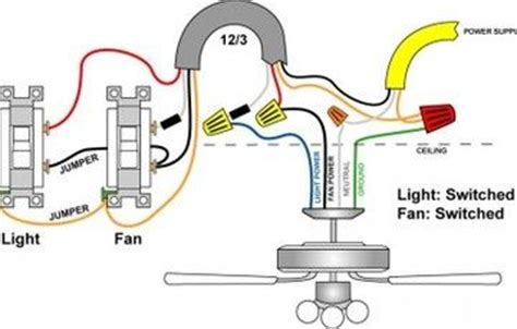 Yellow Cable Hunter Fan Wiring Diagram Power Supply