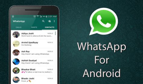 whatsapp 2 16 278 update available for android